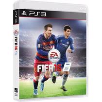 Jogo Novo Esporte Futebol Fifa 16 Pra Playstation 3 Ps3