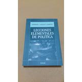 Lecciones Elementales De Politica - Bidart Campos Ed. 2016