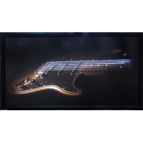 Cuadro Iluminado Con Luz De Neón Interior Guitarra Fender