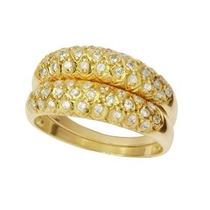 Aparador Em Ouro Amarelo 18k E Diamantes (0,60cts). Códig