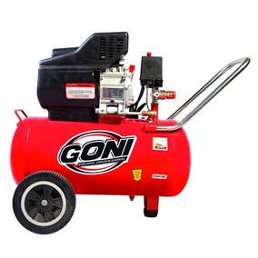 Compresor Goni De 3.5 Hp Con Tanque De 50lt Goni Gon977mx