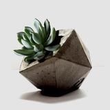 Macetas De Cemento - Original Diseño Artesanal Y Minimalista