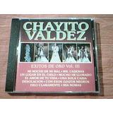 Cd Chayito Valdez - Exitos De Oro Vol. 3 - Cd