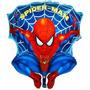 Globo Gigante Metalizado Hombre Araña Spiderman 70 Cm
