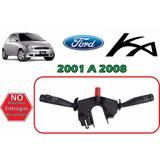 01-08 Ford Ka Palanca Direccional Y Limpiabrisas Del Y Tras