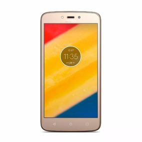 Celular Motorola Moto C Plus Dorado - Xt1724