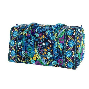 Set Equipaje Vera Bradley Large Duffel Bag Midnight Blue Or