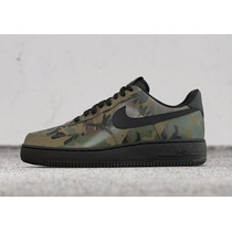 Tenis Nike Air Force One Hombre Camuflados