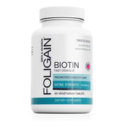 Cabello Hermoso Increíble Biotina  10,000  60 Tabletas