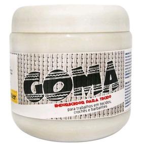 10un Goma Endurecedora Para Tecido 250g. - Glitter