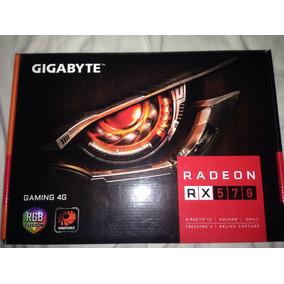 Tarjeta De Vídeo Rx 570 Gigabytes 4gb Garming