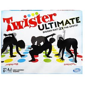 Twister Ultimate Clasico Juego De Piso Hasbro Diversión