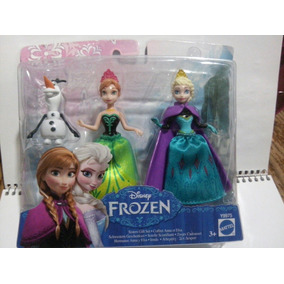 Frozen Hermanas Y Olaf. Combo 3 Figuras. Juguetiness