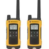 Rádio Comunicador Talkabout 56km T400mc Amarelo Motorola