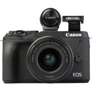 Camara Canon Eos M6 Mark Ii 18-150 Evf-dc2 32,5 Megapixeles