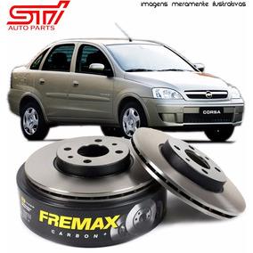 Par Disco Freio Diant. Fremax Corsa Sedan 2008 2009 Bd7966