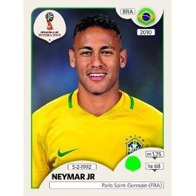 Figurinha Neymar Jr Álbum Copa Do Mundo 2018 N° 371