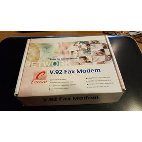 Modem Fax Encore V.92 K56 Interno Bus Pci + Caja +pdf +drvs