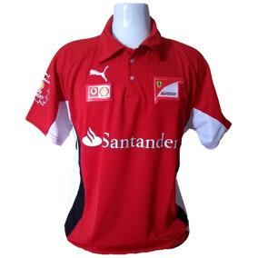 Camiseta Polo Ferrari Formula 1 Importada  Pronta Entrega 8713529a2b5