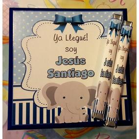 Puros Chocolate Niño Personalizados Nacimiento Baby Bautizo