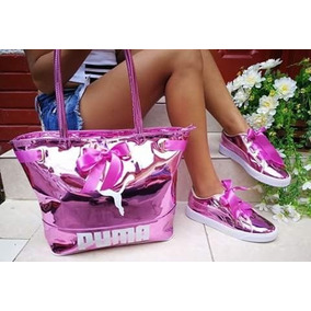 Zapatilla Tenis Bolichero Y Bolso Combo Mujer Calzado Colomb