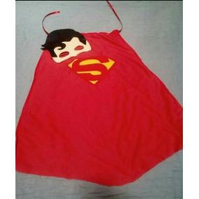 Capa Y Antifaz Superman 20 Piezas Con Envío