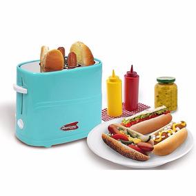 Maquina Para Hacer Hot Dogs Azul *envío Gratis