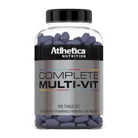 Complete Mult Vit (100tabs) Atlhetica Nutrition