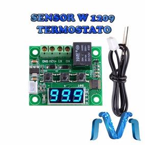 Modulo Termostato W1209 Sensor De Temperatura,display Boton