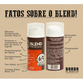 Blend Correção De Falhas Original 30ml Barba De Respeito