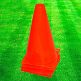 Conos Rígidos C/ Base Entrenamiento, Fútbol, Hockey - El Rey