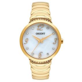 Relógio Orient Feminino Ref: Fgss0094 B2kx Bracelete Dourado