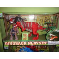 Set Juego De Dinosaurios Grande