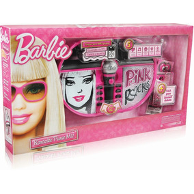 Microfono Barbie Karaoke Transportable