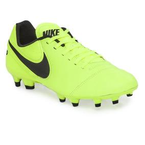 Botin Nike Cuero Tiempo Genio 2 Fg