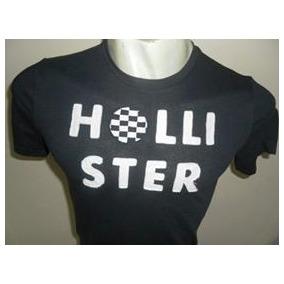 Camiseta Hollister Masculina 100% Original Em Medio
