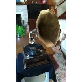 Gramofono - Victrola - Funcionando