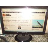 Monitor Positivo 18.5,modelo 936swa-p Com Usb 2.0 , Barato,