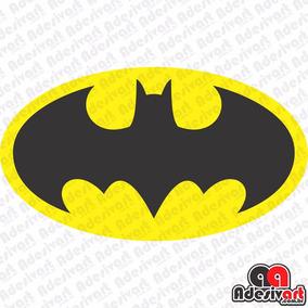 Adesivo Batman Clássico Dc Carro Moto Decorativo 10cm
