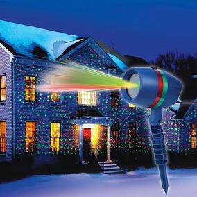 Espeto Projetor De Luz Laser Enfeite De Natal Prova D
