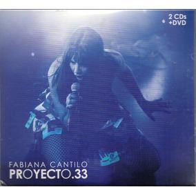 Fabiana Cantilo Proyecto 33 2 Cds + Dvd 2017 Los Chiquibum