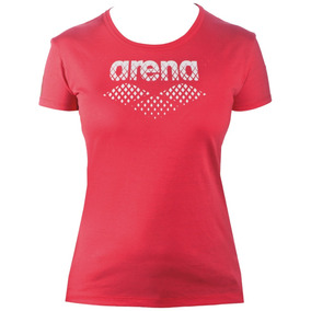 Remera W Essential Big Logo Tee Arena - Airsport