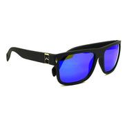 Rusty Indian Anteojos De Sol Gafas Polarizado Espejado Azul