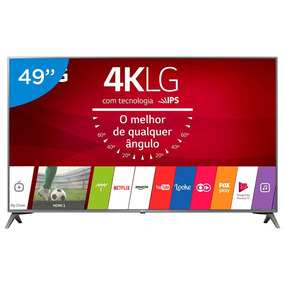 Smart Tv Lg Led 49 Polegadas 4k Ultra Hd Webos Conversor Dig