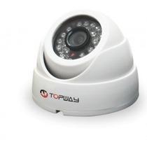 Camera Infravermelho Dome Ccd 1/3 Megapixel 720tvl Topway