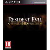 Pack 4 Juegos Resident Evil Coleccion Cronicas Hd Ps3