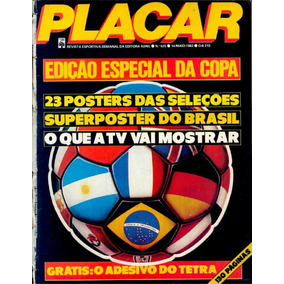 Todos Guia Da Copa Do Mundo Placar Digitalizada - Pdf E Jpeg