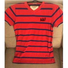 Camiseta Masculina Muscle Abercrombie Original
