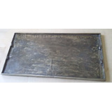 Plancha Fundicion Industrial Lngas 60cm X 30 Cm