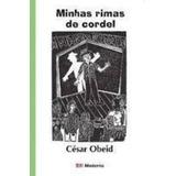 Livro Minhas Rimas De Cordel César Obeid